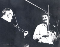 Paul with Joe Venuti